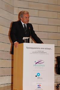 Ο Υπουργός Υγείας & Κοινωνικής Αλληλεγγύης, κ. Δημήτρης Αβραμόπουλος